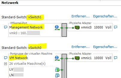 Total loss of ESXi Management Network Settings - rebuild