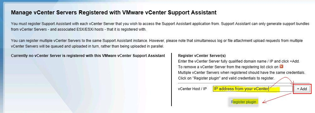 Want to file SRs faster? Give the vCenter Support Assistant