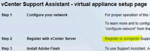 unregister_vCenter_Support_assistant