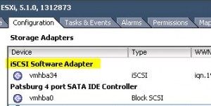 iSCSI Software Adapter