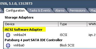How to – remove/delete an iSCSI Software Adapter