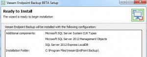 Veeam Endpoint Backup 1