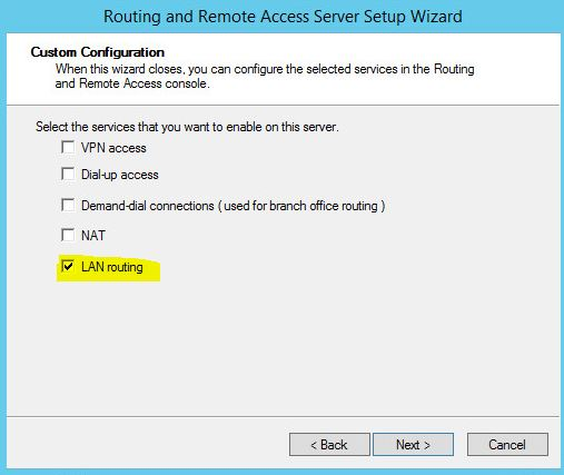 How to build an isolated VMware test environment