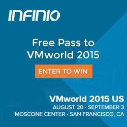 Infinio_VMworld_2015