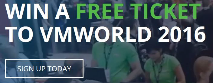 veeam vmworld raffle