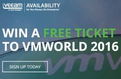 veeam vmworld 2016 win
