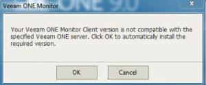 veeam-one-monitor-client-version-mismatch