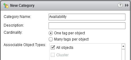 VMware vSphere Tags and Categories - all you need to know