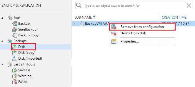 How to rename a Veeam Backup Job and the associated backup