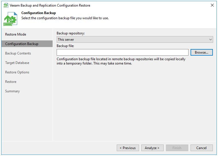 How to migrate your Veeam SQL Database to a new SQL Server
