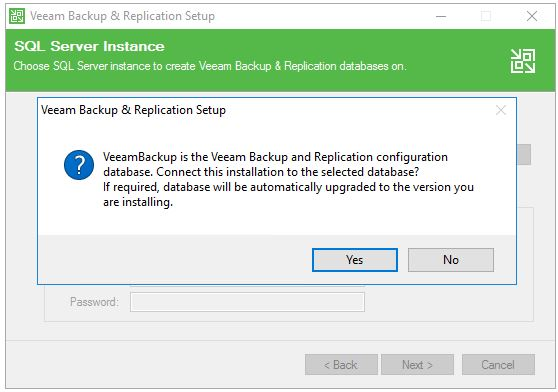 Veeam Backup & Replication Setup