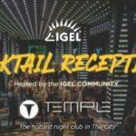 IGEL Cocktail Reception
